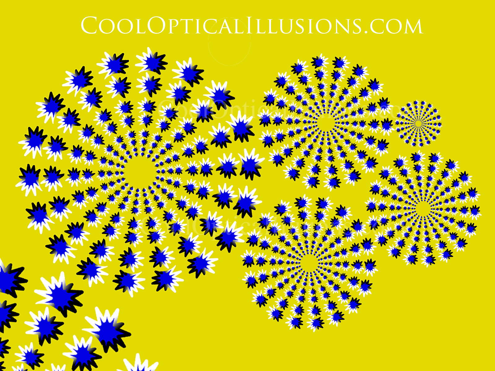 moving stars desktop backgrounds @ cool optical illusions
