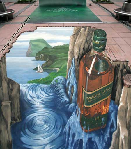 julian beever chalk paintings