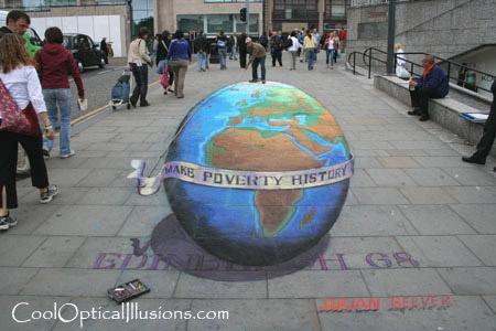 Julian Beever chalk artist