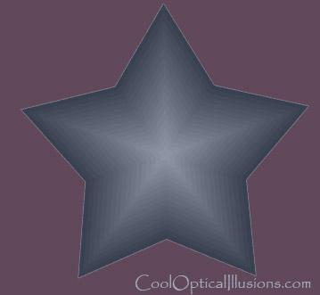 starburst star burst illusion