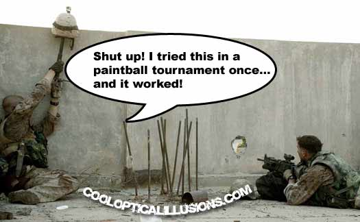 Pictures only thread Funny-paintball-tactics