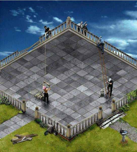 best optical illusion picture