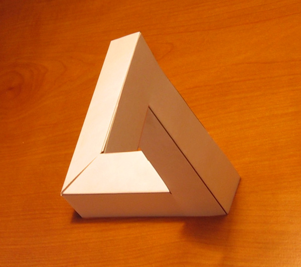 build a penrose impossible triangle