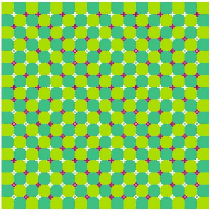 optical illusion pictures 3 wavy lines optical illusion