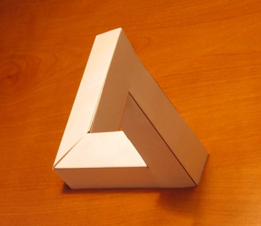 Results of the printable cutting and folding template