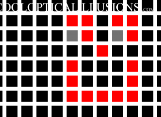 Gray dots appear in the spaces