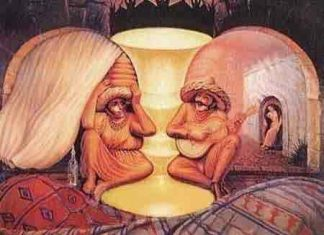 Old or Young- Crazy Optical Illusion