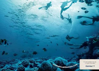 Club Med Scuba Divers Illusion