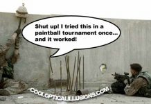 Funny Paintball Tactic