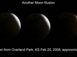Moon Illusion- Lunar Eclipse Illusion
