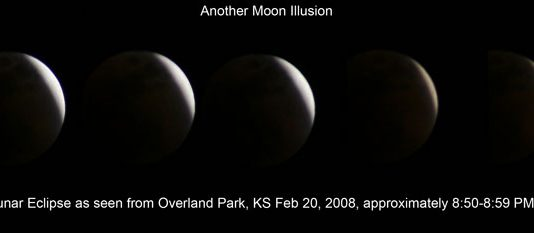 Moon Illusion- Lunar Eclipse Illusion