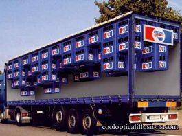 Pepsi Truck Illusion